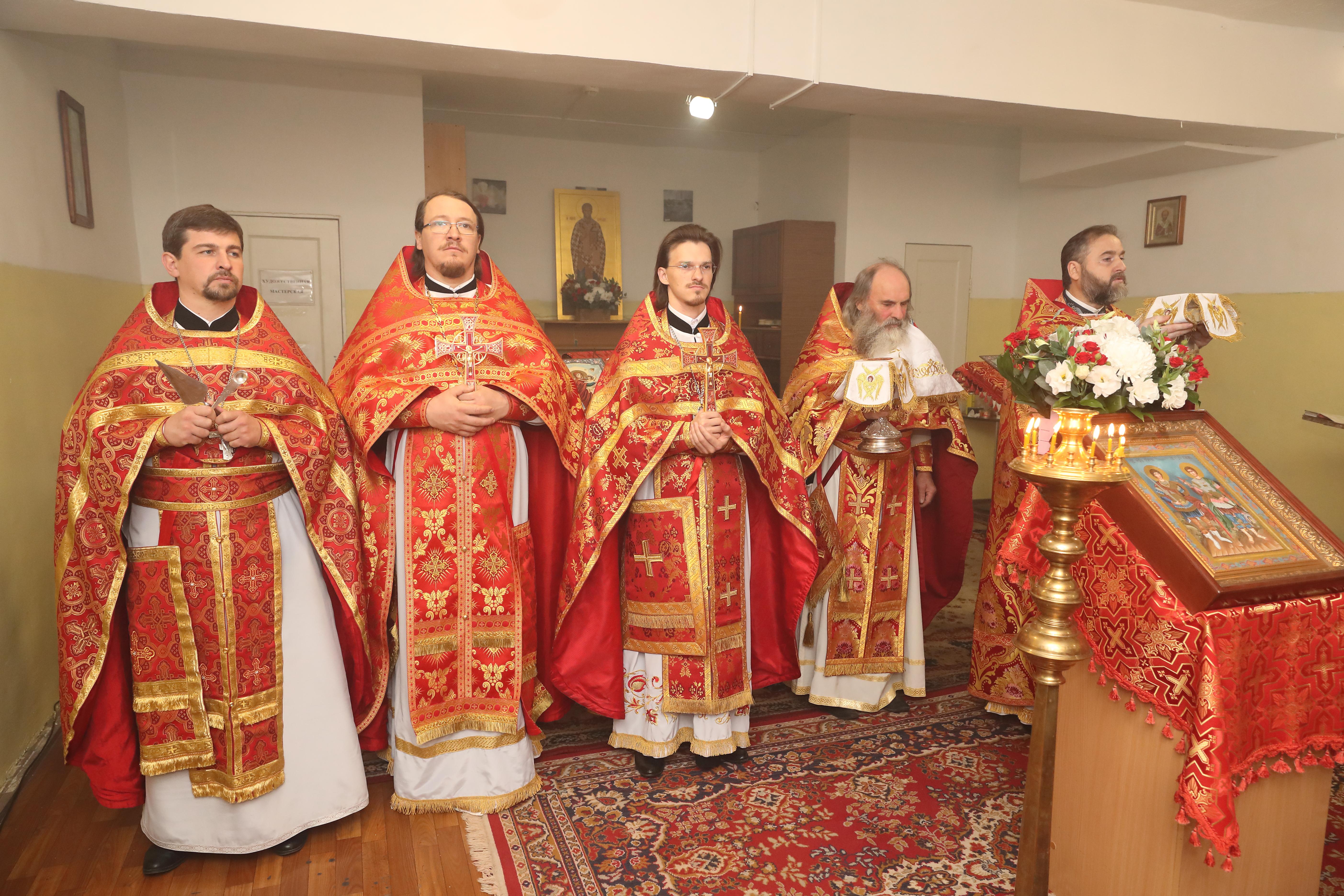 литургия в сизо-1