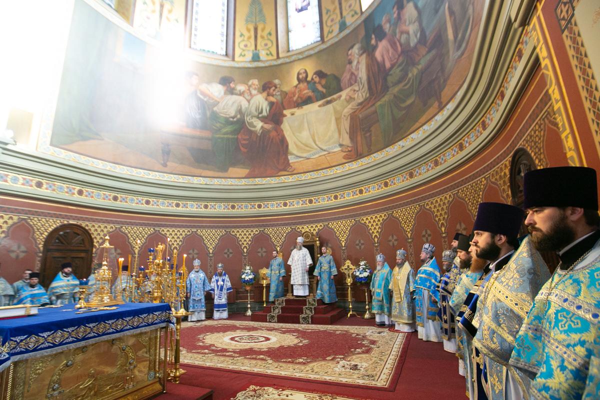 Митрополит Меркурий: «Сегодня мы собираемся под сводами Патриаршего войскового всеказачьего собора, чтобы напомнить себе о нашем единстве в вере и служении»